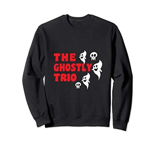 Scary Skulls & Ghost Trio Halloween Costume -