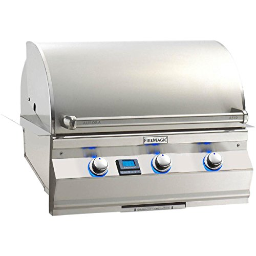 - Fire Magic Aurora A540i 30-inch Built-in Propane Gas Grill With One Infrared Burner - A540i-5l1p