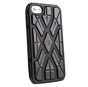 G-Form XTREME X Ruggedized Protective Case for Apple iPhone 5 (Black/Black RPT)