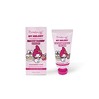 The Crème Shop Korean Cute Scented Pocket Portable Soothing Advanced Must-Have on-the-go - The Crème Shop x Sanrio Hello Kitty Handy Dandy Cream (Strawberry Cake)