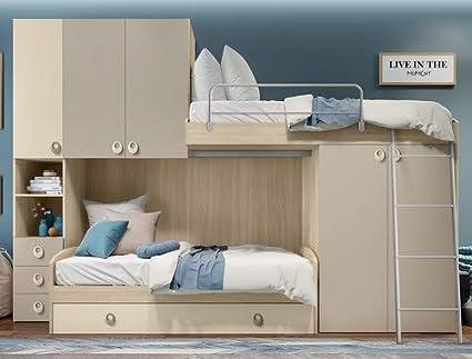 Klipick - Dormitorio Mod. Arco. Somier, sofá Cama con somier ...