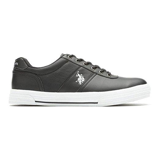 U.S. Polo Assn. Mens Casual Sneakers Black 4qPXH
