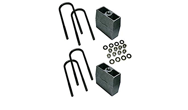3 inch Block Kit 9135 With Top Mounted Overload Leaf Superlift Suspension 1999-2010 Ford F-250 and F-350 Super Duty 4WD with 3 5//8 AxleTube