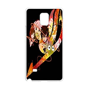 Samsung Galaxy Note 4 Cell Phone Case White Fairy Tail tpvp