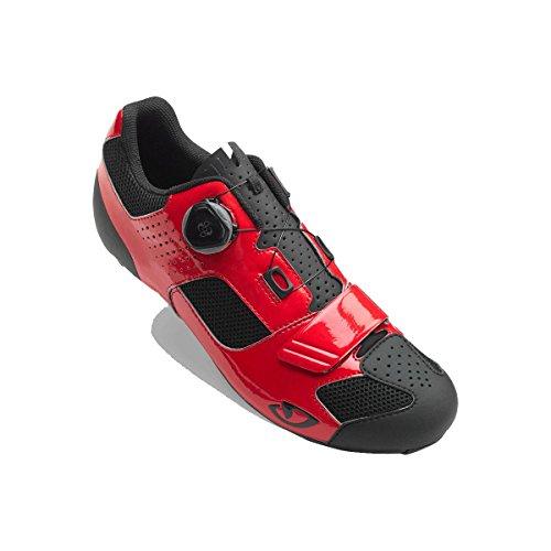 Bright Boa Shoes Red Black Cycling Men's Giro Trans Rw8xTX