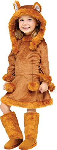 Toddler/girl's Sweet Fox Costume (Sweet Fox Costume - Medium)
