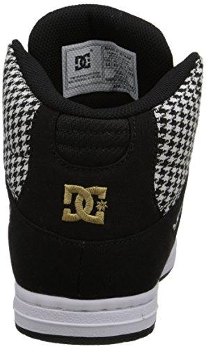 DC - Junge Frauen Rebound Hohe Tx Se Hallo Top Schuhe, EUR: 37.5, Black/Black/White