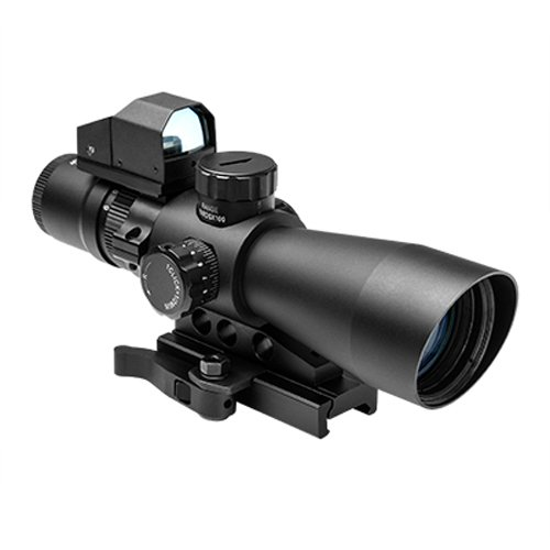 NC Star Gen-2 Mil-Dot Ultimate Sighting System, 3x-9x 42mm, Black