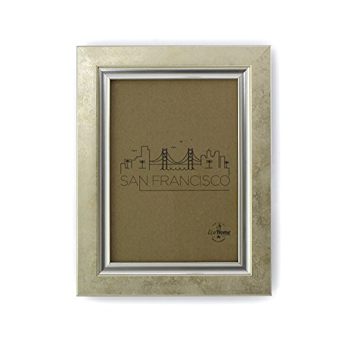 8x10 Picture Frames Gold Vintage - Mount Desktop Display, Frames by EcoHome