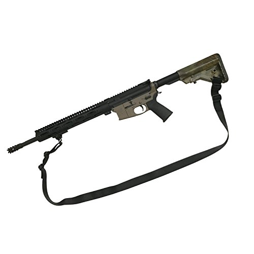 BluCollarTactical 2 Point Rifle Sling Patriot Model (100% USA Made)