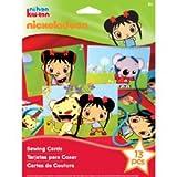 Nickelodeon Ni Hao, Kai-lan Sewing Cards Kit