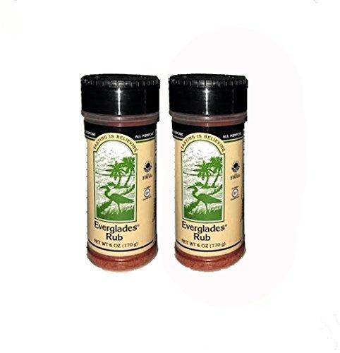 Everglades Seasoning Rub All Purpose 2 Pack (6oz) Barbecue