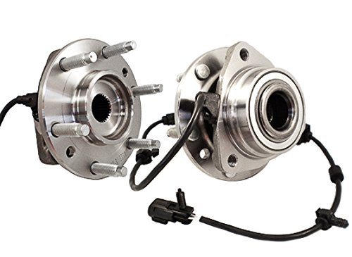 Callahan 513188X2 [2] Pair FRONT Premium Grade [ 6 Lug ] Wheel Hub Bearing Assemblies [ 513188 ] (Envoy Slt Gmc)