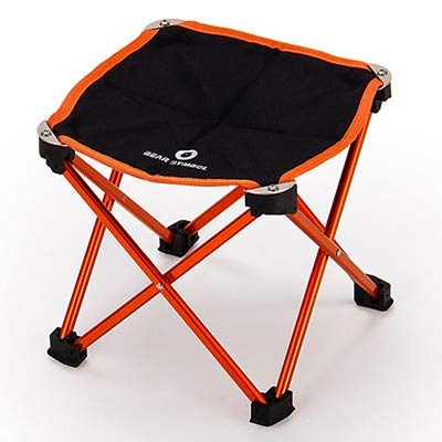 AUDOMENS Folding Camping Chair - Portable Foldable Folding Table Chair Desk Camping BBQ Hiking Traveling Outdoor Picnic Folding Camping Chair Aluminium Alloy Ultra-Light M L 1 - Jewelry Box Chaise