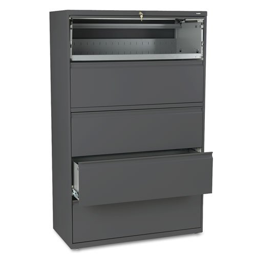 800 Series Five Drawer - HON895LS - HON 800 Series Five-Drawer Lateral File