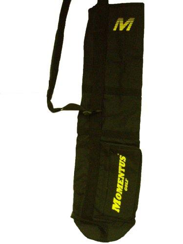 Momentus Golf Sunday Bag (Black, 8″ x 32″) Golf Carry Bag