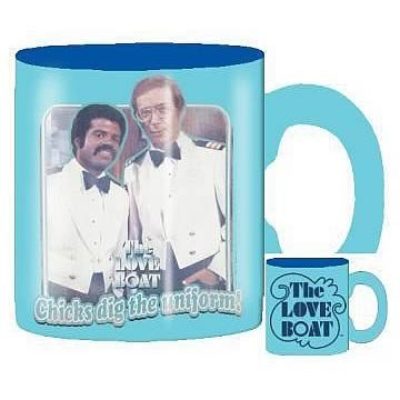 The Love Boat Chicks Dig the Uniform Blue Mug by Silver Buffalo -