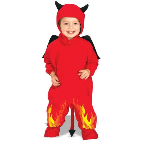 Lil Devil EZ-On Romper Costume - Infant (Halloween Costum Ideas)
