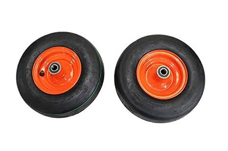 Amazon.com: Antego (juego de 2) 11 x 4.00 – 5 neumáticos y ...