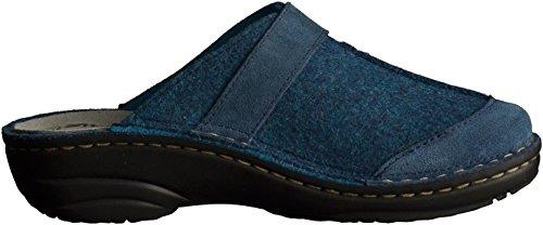 Pantofole Donne Di 6173 Blu Rohde wzvAq7p