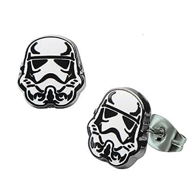 Star Wars Stormtrooper Stud Earrings
