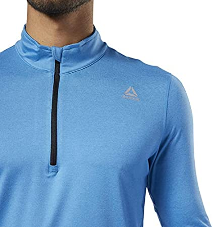 Cyan Reebok Essentials Quarter Zip