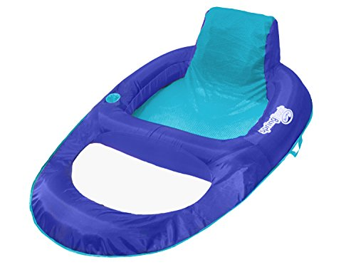 SwimWays Spring Float Recliner XL (Blue/Aqua)