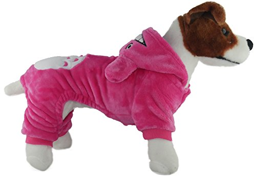 [TadMart - Pet Costume PINK TOTORO M hoodie/sporty hoodie/ warm sweater / costume/outfit for small pets) (M,] (Business Suit Dog Costume)