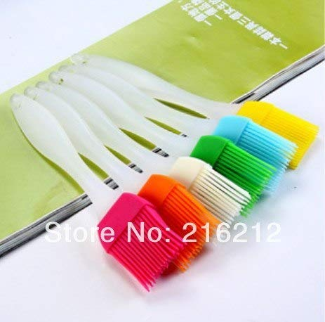 Huyenkute Silicone Basting Cooking Pastry Brush Kitchen Heat Resistance Silicone BBQ Brush