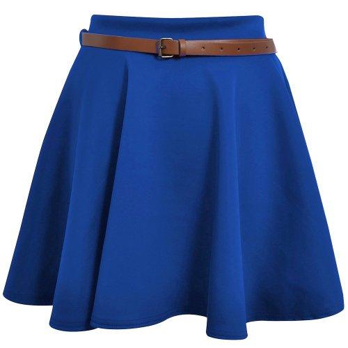Top Jupe Fashion 36 Patineur Bleu Avec Skuba Briller 42 Royal Femmes rTrpqPXwH