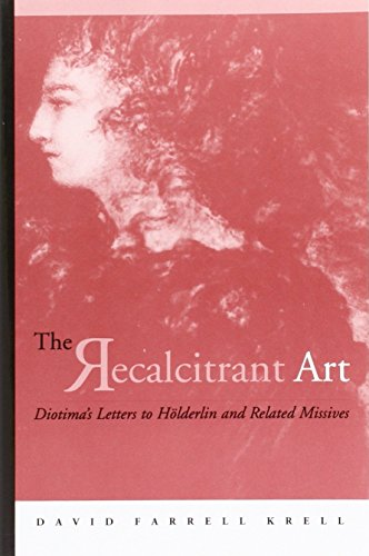 The Recalcitrant Art: Diotima's Letters to Holderlin and Related Missives (Suny Series in Contemporary Continental Philosophy)