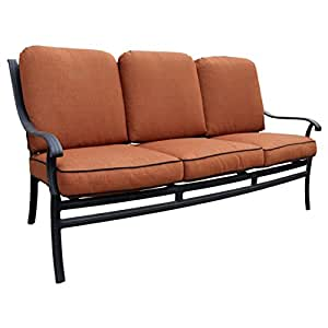 California Casual Malibu Collection Deep Seat Sofa with Cushions