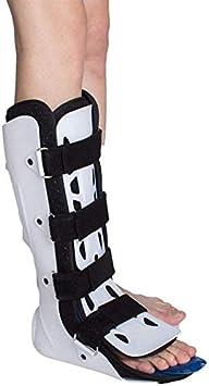 ZHAS Tobilleras, Bota médica Walker para fracturas, Bota Walker, Bota para Caminar para la recuperación de una cirugía o lesión para Proteger el Tobillo con articulaciones ortopédicas fijas ajust
