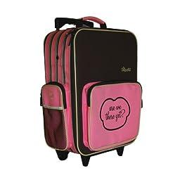 The Shrunks Bandit Mini Travel Luggage, Pink