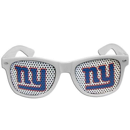 NFL New York Giants Game Day Shades, White