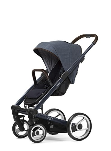 Mutsy Igo Farmer Edition Stroller, Deep Blue Chasiss/Farm...