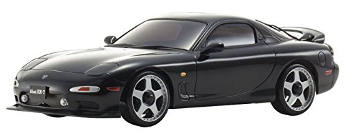Kyosho Mini-Z Autoscale Mazda RX-7 FD3S Replacement Body Toy, Black