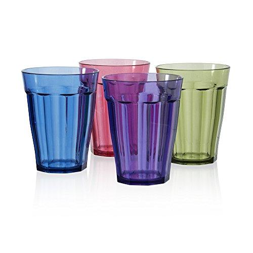rhapsody-premium-quality-plastic-8oz-juice-tumblers-set-of-8-in-4-assorted-colors