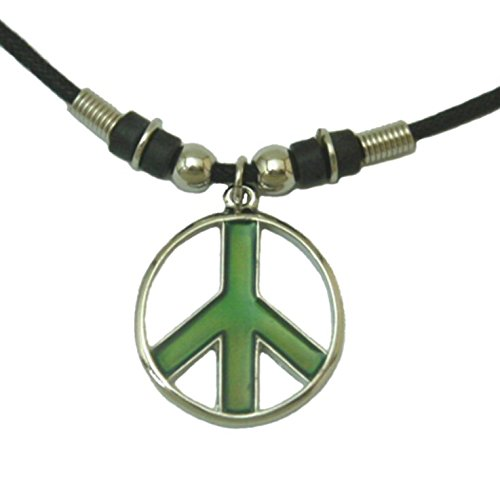 Tapp Collections trade; Mood Pendant Necklace - Peace Sign ()