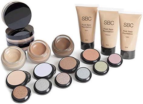 SBC Pintalabios sombras de ojos maquillaje Kit con Peach Melba Pintalabios: Amazon.es: Belleza