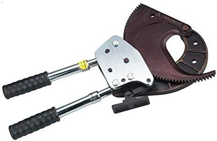 手動ケーブルカッター、ラチェットワイヤーカッター伸縮可能なハンドルハンドツール 小さなハードウェアツール