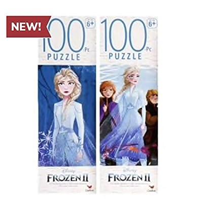 Disney Frozen 2 100 Piece Jigsaw Puzzle Gift Set(Set of 4): Toys & Games