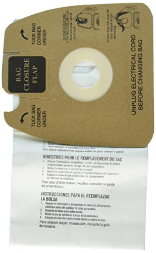 Electrolux Not Disposable Dust Bags w/Allergen Filter, White ()