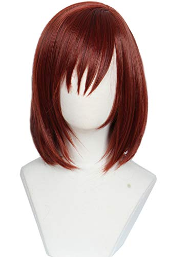 Linfairy Red Mixed Kairi Wig Halloween Cosplay Costume