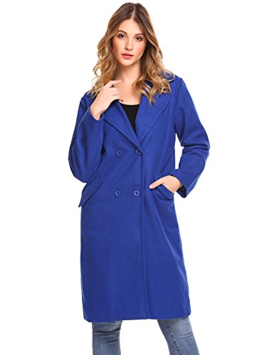 Bifast Womens Business Oversized Long Sleeve Formal Winter Coat by Bifast