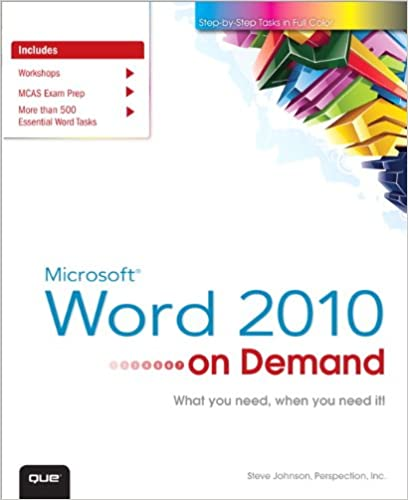 Ms Word 2010 Ebook