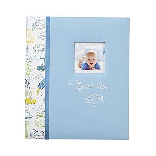 C.R. Gibson Loose Leaf Baby Memory Book - Let The Adventu...