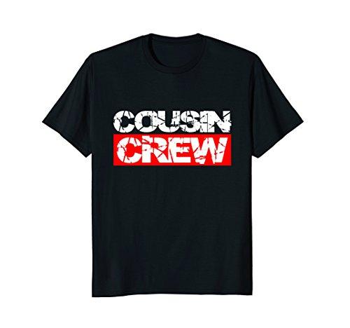 Cousin Crew T-Shirt Kids Women Men Girl Funny Gift