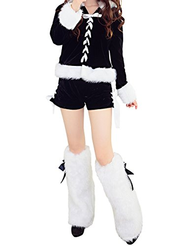 [YeeATZ Sexy Cute Girl Cosplay Christmas Costume] (Pajamas Dance Costumes)