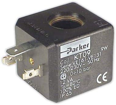 DOJA Industrial   Bobina electrovalvula PARKER 230 V   Nucleo diámetro 14 mm